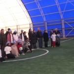 zihinsel engellilerden oluşan futbol takımı